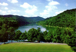 Buckhorn Lake in Perry County, KY